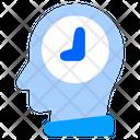 Time Plan Head Thinking Icon