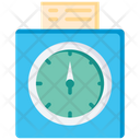 Time Record Running Time Record Smartwatch Icon