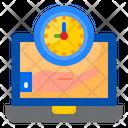 Time Saving Watch Clock Icon