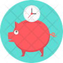 Time Save Clock Icon