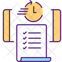 Time Saving Contract Icon
