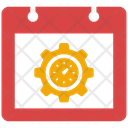 Time Schedule Time Management Schedule Icon