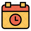 Calendar Time Meeting Time Icon