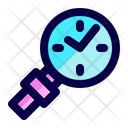 Time Watch Find Icon