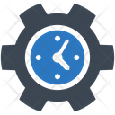 Time Clock Setting Icon