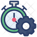Time Setting Preference Schedule Icon