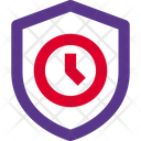 Time Shield Icon