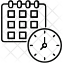 Time Table Timer Icon