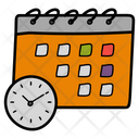 Time Table Schedule Event Schedule Icon