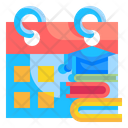 Time Table Study Schedule Calendar Icon
