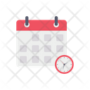 Time Table Calendar Delivery Scheduled Icon