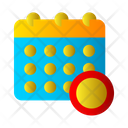 Time Table Schedule Date Icon