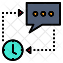 Time To Change Concept Time Change Icon