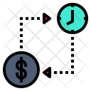 Time To Change Money Icon