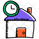 Time To House Time To Home Come Home Icon