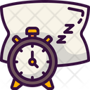 Time To Sleep Sleep Time Sleeping Time Icon