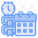 Time To Study School Time Study Time Icon