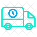 Time Truck Icon