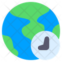 Time Zone Zone Global Icon