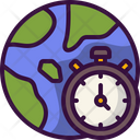 Time Zone Zones Globe Icon
