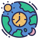 Time Zone Time Location Icon