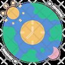 Time Zone Icon