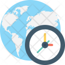 Global Time Zone Icon
