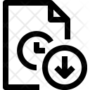 Timefile Arrow File Icon