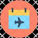 Timeframe Flight Schedule Icon