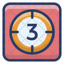 Timeline Movie Countdown Camera Timer Icon