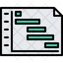 Plan Graph Stage Icon