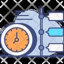 Timeline Deadline Timer Icon