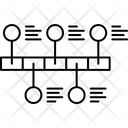 Graph Line Time Icon