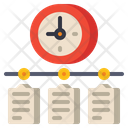 Timeline Time Schedule Icon