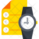 Timeline Time Is Money Time Managemnet Icon