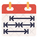 Schedule Plan Time Icon