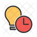 Timeout Lamp Schedule Icon