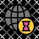 World Global Hourglass Icon