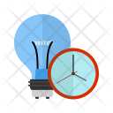 Timeout Schedule Bulb Icon