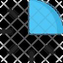 Clock Time Quarter Icon