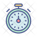 Counter Clock Stopwatch Icon
