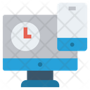 Lcd Mobile Finance Icon