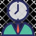 Timer Man Businessman Icon