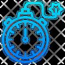 Time Stopwatch Bomb Icon