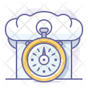 Cap Fast Stopwatch Icon