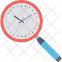 Magnifying Time Timer Icon