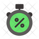 Time Black Friday Commerce Icon