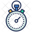 Time Management Stopwatch Icon