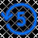 Timer Countdown Five Icon