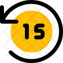 Timer Fifteen Second Icon
